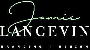 jamie langevin branding graphic design logo