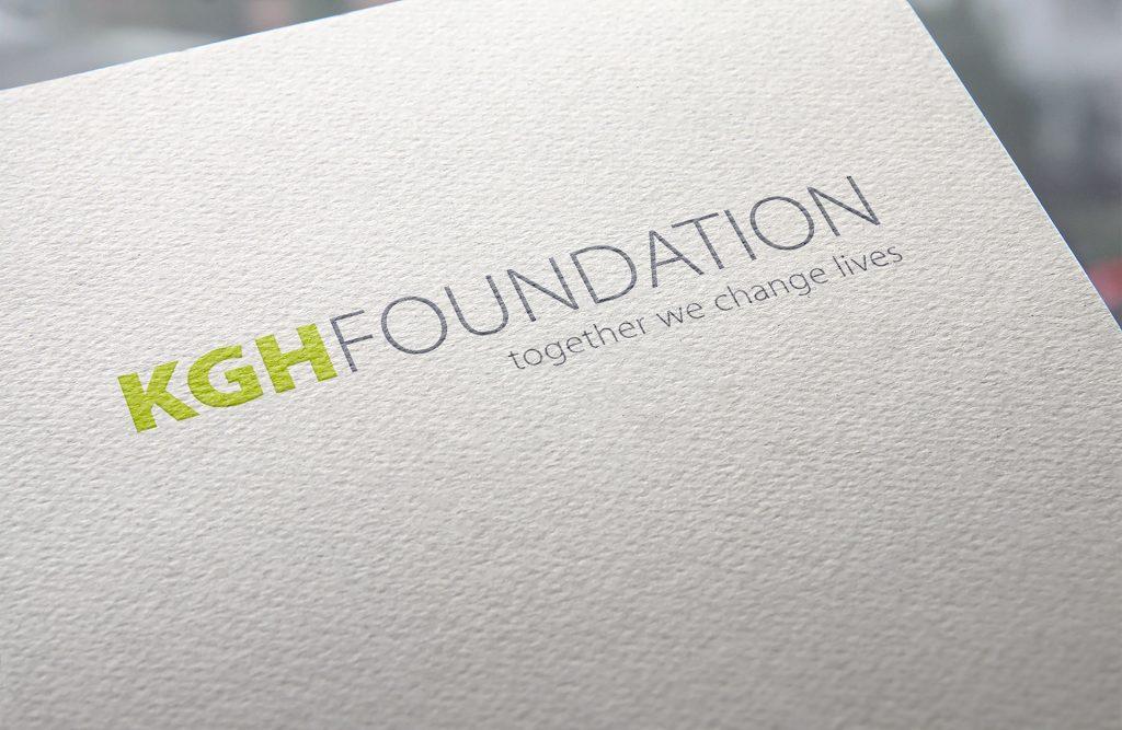 Jamie Langevin Portfolio Brand Identity Design KGH Foundation Logo Paper