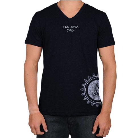 TandavaYoga Concept ShirtMock MensTshirt v1