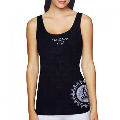 TandavaYoga Concept ShirtMock Womens v3a