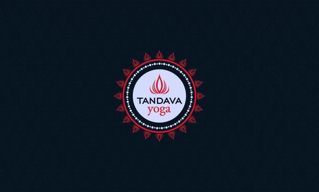 jamie langevin branding design tandava yoga logo pattern bg
